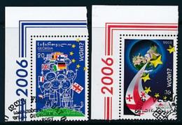 "GEORGIEN Mi.Nr. 515-516 A   EUROPA CEPT ""Integration"" 2006 - Used - 2006"
