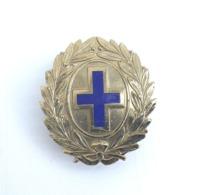 Fregio Metallico Da Berretto Vintage ENPA Ente Naz. Protezione Animali Raro - Esercito
