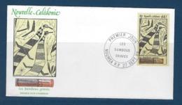 "Nle-Caledonie FDC Aerien YT 264 (PA) "" Art Indigène "" Enveloppe 27.9.89 Nouméa - Briefe U. Dokumente"