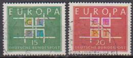 BRD 1963 MiNr.406 - 407 Europa ( A691 ) Günstige Versandkosten - BRD