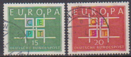 BRD 1963 MiNr.406 - 407 Europa ( A692 ) Günstige Versandkosten - BRD