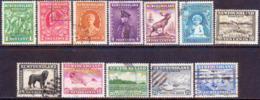 1932 NEWFOUNDLAND SG #209-220 Compl. Set Used CV £70 - 1908-1947