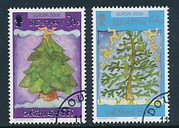 """ISLE OF MAN  Mi.Nr. 1326,1328,1332 EUROPA CEPT  """"Integration """" 2006 - Used - 2006"""