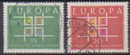 BRD 1963 MiNr.406 - 407 Europa ( A693 ) Günstige Versandkosten - BRD