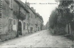 12 CPA RIGNAC Avenue De Villefranche - Francia
