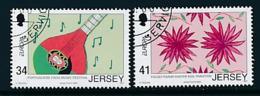 "JERSEY Mi.Nr. 1221-1222 EUROPA CEPT  ""Integration "" 2006 - Used - 2006"