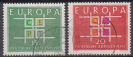 BRD 1963 MiNr.406 - 407 Europa ( A694 ) Günstige Versandkosten - BRD