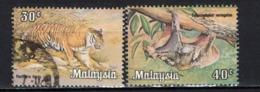 MALESIA - 1979 -  TIGRE E COBEGO - USATI - Malaysia (1964-...)