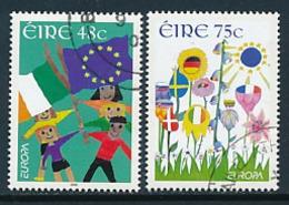 "IRLAND Mi.Nr. 1701-1702 EUROPA CEPT  ""Integration "" 2006 - Used - Europa-CEPT"