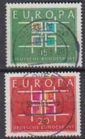 BRD 1963 MiNr.406 - 407 Europa ( A695 ) Günstige Versandkosten - BRD