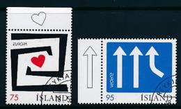 "ISLAND Mi.Nr. 1133-1134 EUROPA CEPT  ""Integration "" 2006 - Used - 2006"