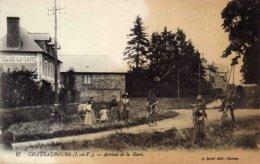 CHATEAUBOURG - Arrivée De La Gare - Autres Communes
