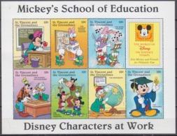 1996St Vincent & Grenadines3821-27KLWalt Disney / School Teacher - Disney