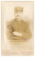CDV   MILITAIRE DU 111   PH. C. JACOMIN  TOULON - Guerre, Militaire