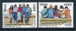 "ITALIEN Mi.Nr. 3118-3119 EUROPA CEPT  ""Integration "" 2006 - Used - Europa-CEPT"