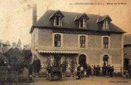CHATEAUBOURG - Hôtel De La Gare - Altri Comuni