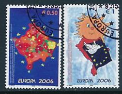 KOSOVO  Mi.Nr.  43-44  Europa Cept Integration -2006 - Used - Europa-CEPT