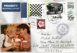 GERMANY. Munich Oktoberfest 2019, On Letter Sent To Andorra, With Arrival Postmark - Biere