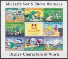 1996St Vincent & Grenadines3828-35KLWalt Disney / Sea Vacation - Disney