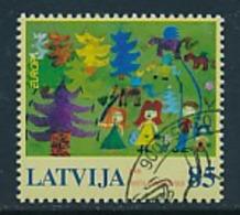 "LETTLAND  Mi.Nr. 674   EUROPA CEPT ""Integration"" 2006 - Used - Europa-CEPT"