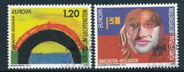 """LIECHTENSTEIN  Mi.Nr. 1400-1401   EUROPA CEPT """"Integration"""" 2006 - Used - Europa-CEPT"""