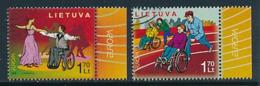 "LITAUEN  Mi.Nr. 902-903   EUROPA CEPT ""Integration"" 2006 - Used - Europa-CEPT"