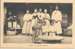 CPA Corée Une Famille Chrétienne - Korea (Zuid)