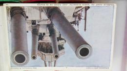 CPA. QUEEN ELISABETH CANON - L' ANGLETERRE PRETE A FRAPPER AVEC L' AUTORISATION DE L' AMIRAUTE - - Ausrüstung