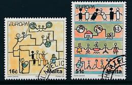 "MALTA Mi.Nr. 1456-1457 EUROPA CEPT  ""Integration "" 2006 - Used - 2006"