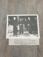 Photo Original Marechal Petain Chef De L'état / Audiences Publiques / Vichy / Ww2 - Guerre, Militaire