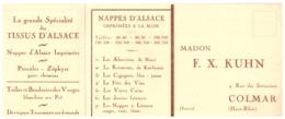 MAISON F. X. KUHN  COLMAR -BON DE COMMANDE - Mappe