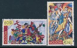 "MOLDAWIEN  Mi.Nr. 549-550   EUROPA CEPT ""Integration"" 2006 - Used - Europa-CEPT"