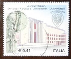 """2003 Nr 2684 Università """"La Sapienza"""" Di Roma  0,41 € - Vedi Foto - 6. 1946-.. Republik"""