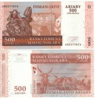 MADAGASCAR  500 Ariary    P88a   2004 UNC. - Madagascar