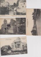 La Grande Guerre 1914/1918 - Lot De 11 CPA Bombardement Dans La Somme - Guerre 1914-18