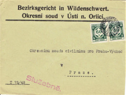 Böhmen & Mähren - Umschlag Echt Gelaufen / Cover Used (A864) - Bohemia Y Moravia