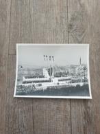 Photo Original Marechal Pétain Chef De L'état A Marseille / STO  / Vichy / Ww2 / 39/45 - Guerre, Militaire