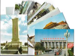 CHINE CHINA  -Lot De 25 Cartes CPM (Peking Beijing Pekin)-scan R/V Des  25 Cartes - Chine
