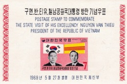 Corea Del Sur Hb 157 Con Charnela - Corea Del Sur