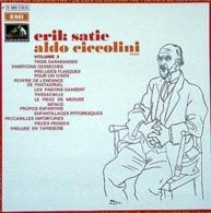 LP/ Erik Satie - Aldo Ciccolini Volume 3 - Clásica