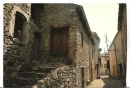 CPM  De  LACHAU  (26)   -   La  Rue  Du   Four  Au   Moulin    //   TBE - Autres Communes