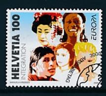 "SCHWEIZ  Mi.Nr. 1965  EUROPA CEPT ""Integration"" 2006 - Used - Europa-CEPT"
