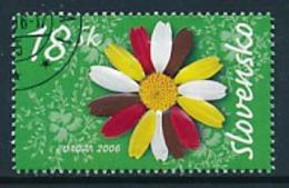"""SLOWAKEI  Mi.Nr. 534  EUROPA CEPT """"Integration"""" 2006 - Used - 2006"""