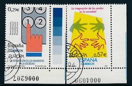"SPANIEN Mi.Nr. 4156-4157  EUROPA CEPT  ""Integration "" 2006 - Used - 2006"