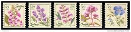 Etats-Unis / United States (Scott No.4513-17 - Fleur / Flower) (o) Roulette / Coil - Etats-Unis