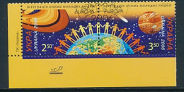 "UKRAINE  Mi.Nr. 785-786  EUROPA CEPT ""Integration"" 2006 - Used - Europa-CEPT"