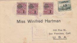 Costa Rica 1930 Airmail Letter - Costa Rica