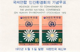 Corea Del Sur Hb 230 Con Charnela - Corea Del Sur