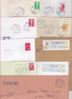 Lot Département 89 YONNE : 41 TàD Manuel Et MOG De GA AN Guichet Annexe RAU AP Agence Postale - Auxerre Sens ... - Postmark Collection (Covers)