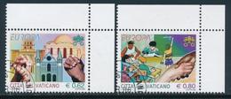 "VATIKAN Mi.Nr. 1546-1547  EUROPA CEPT  ""Integration "" 2006 - Used - 2006"